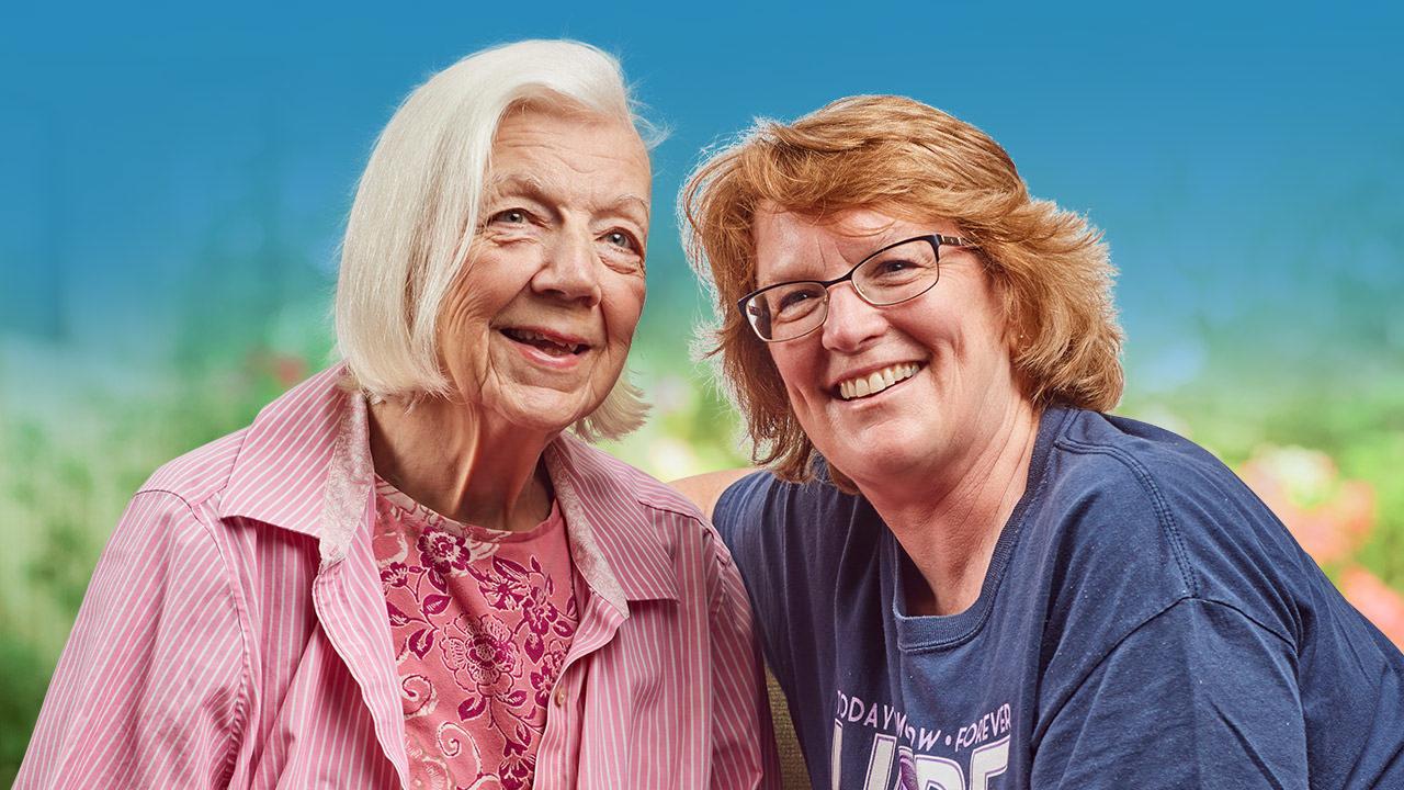 Resident at Senior Living Facility